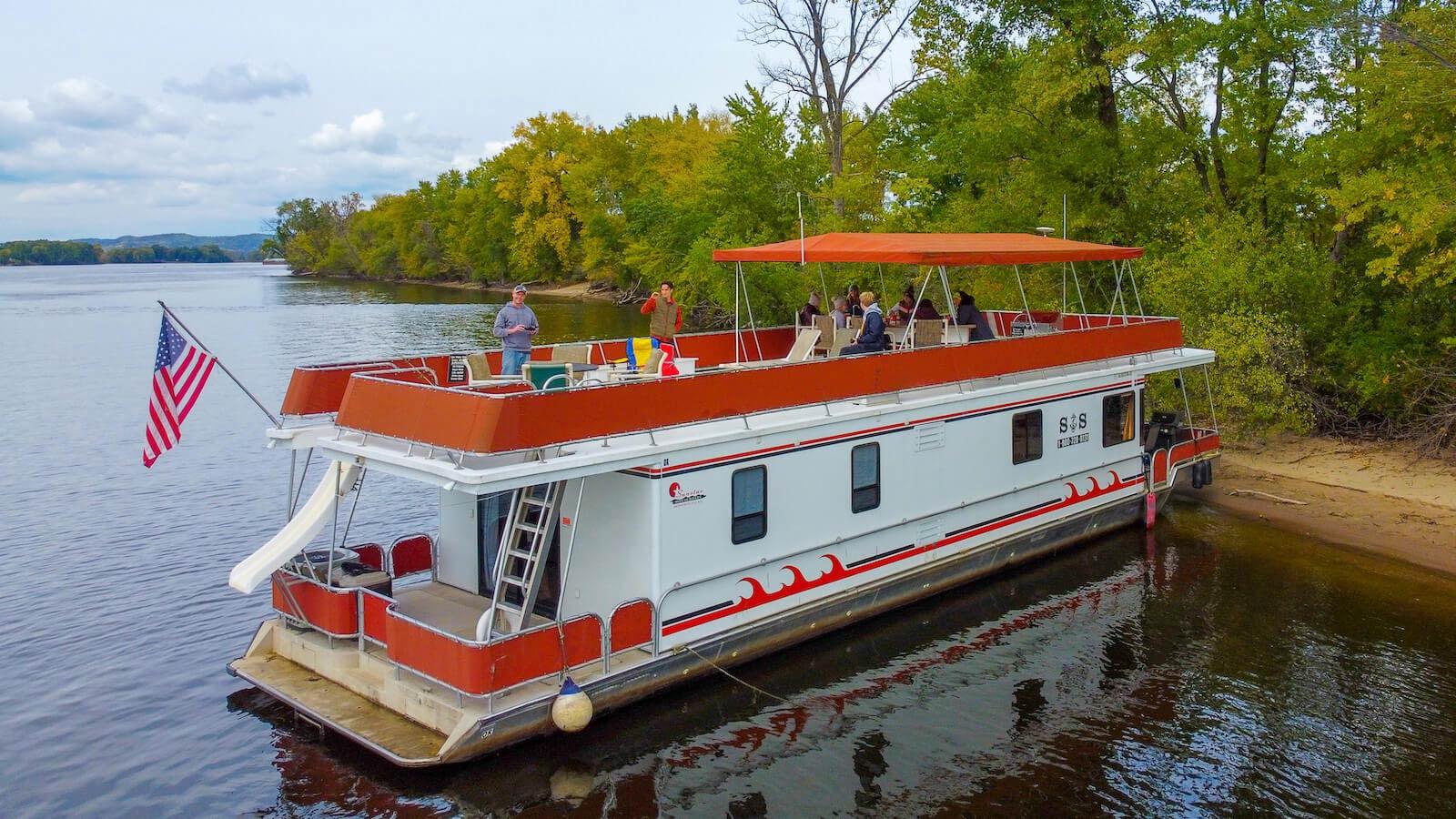 Monticello house boat