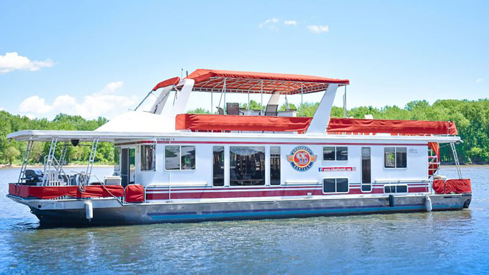 Riverview 62 ft Houseboat